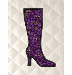 Boot shoes applique