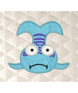 Pout Pout Fish applique
