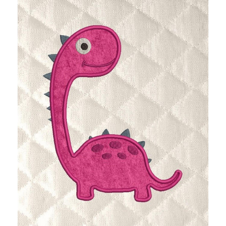 dinosaur baby applique
