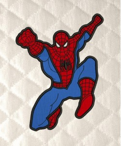 spiderman grand applique