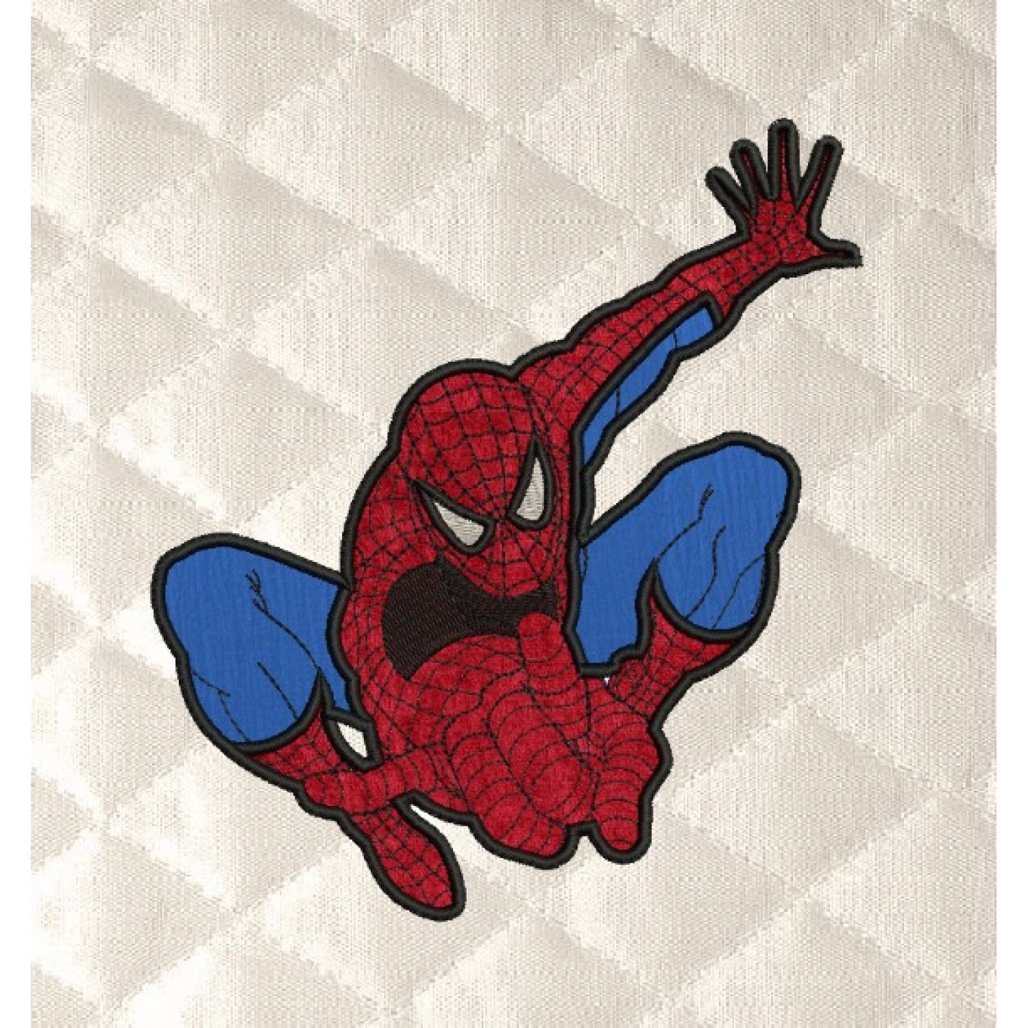 spiderman v4 embroidery