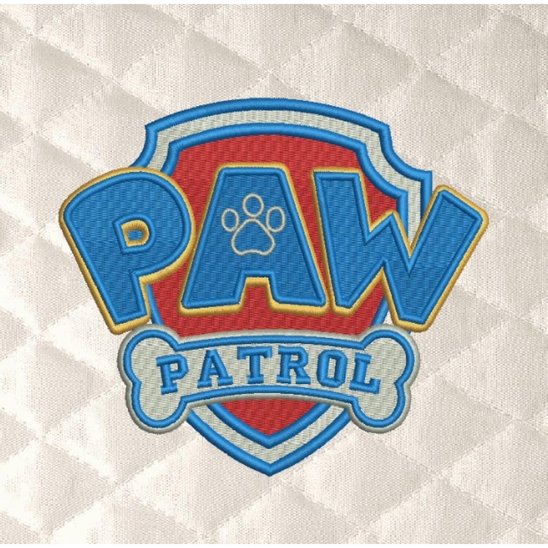 logo paw patrol embroidery