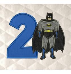 Batman Number 2 Birthday