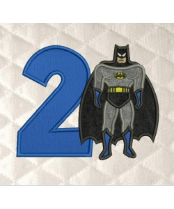 Batman Number 2 Birthday