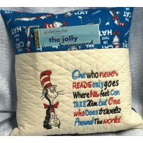 Dr. Seuss embroidery One who never reads