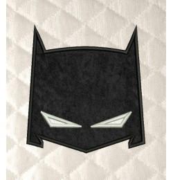 batman mask applique