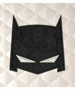 batman mask applique