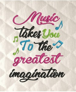 Music takes you