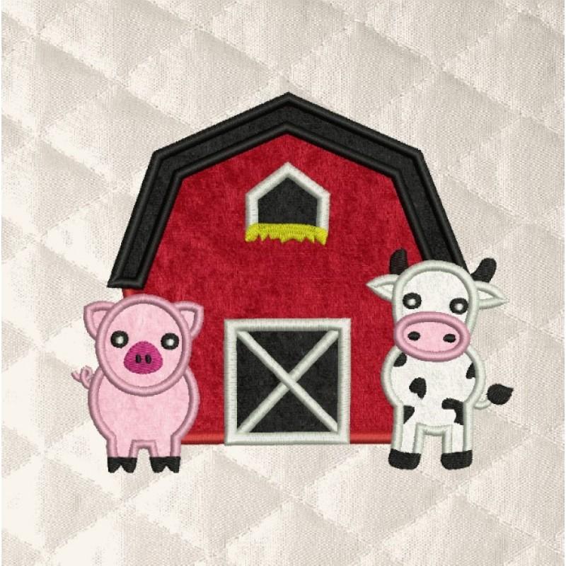 Barn Animals applique