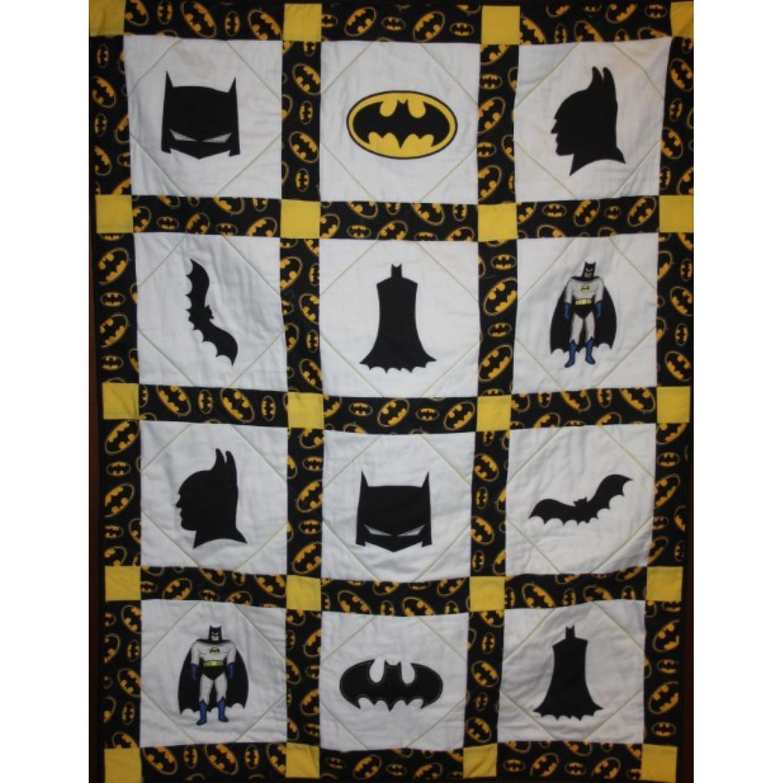 batman quilt applique