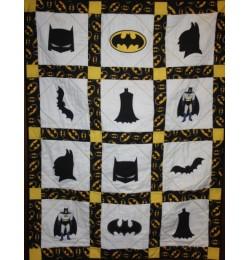 batman quilt set 7 designs embroidery