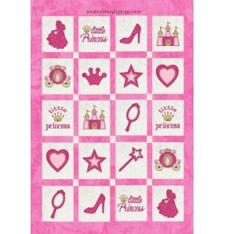 princess quilt v2 applique set 11 designs