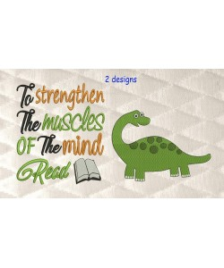 dinosaur grand with to strengthen