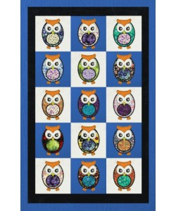 owl arej applique