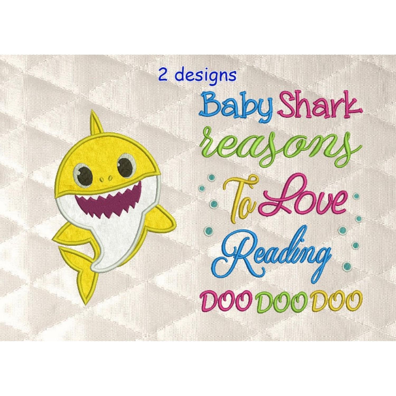 baby shark with Baby Shark Reasons