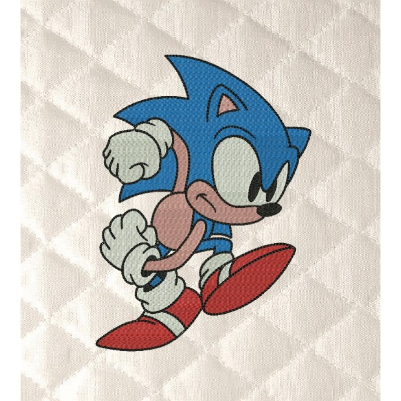 Sonic embroidery
