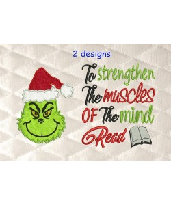 Grinch face with To strengthen