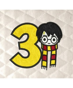 harry potter number 3 birthday