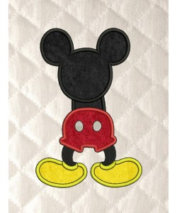 mickey mouse behind