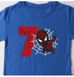 spiderman with number 7