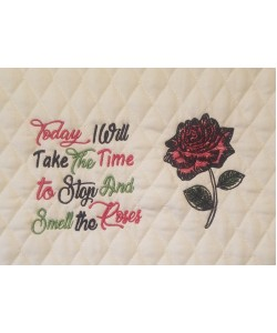 Rose with today i will take