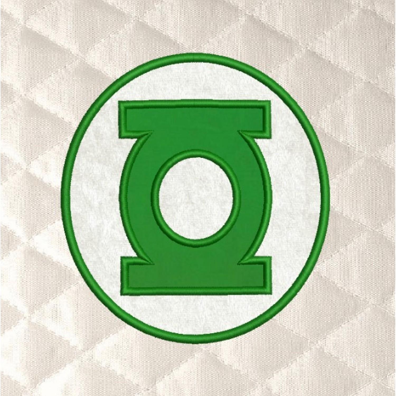 Green lantern Logo applique