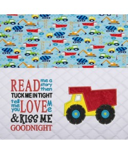 dump truck with read me a story
