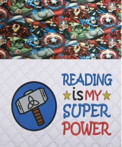 Thor Logo with Reading is My Super power