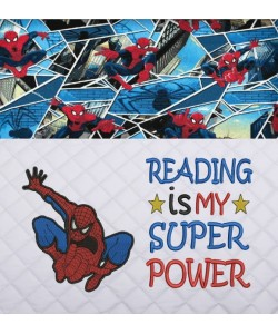 Spiderman lonway with Reading is My Super power