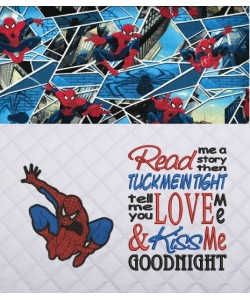 Spiderman lonway with Read me