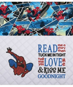 Spiderman lonway with Read me a story