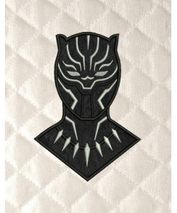 black panther applique