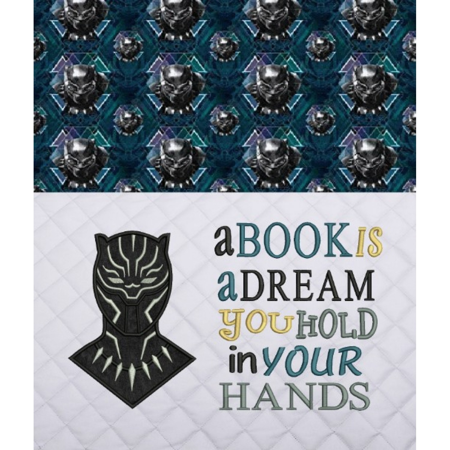 black panther with a book is a dream