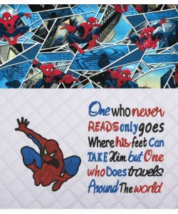 Spiderman lonway with One who never reads