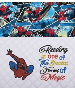 Spiderman lonway with Reading is one