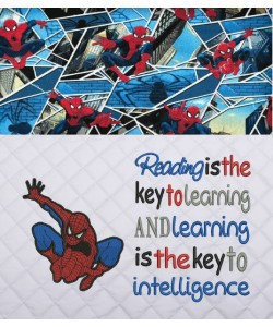 Spiderman lonway with Reading is the key