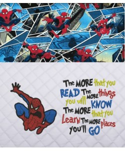 Spiderman lonway with the more that you read