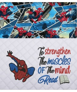 Spiderman lonway with To strengthen