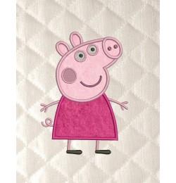 Peppa Pig applique