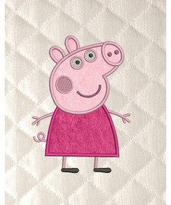 Peppa Pig applique