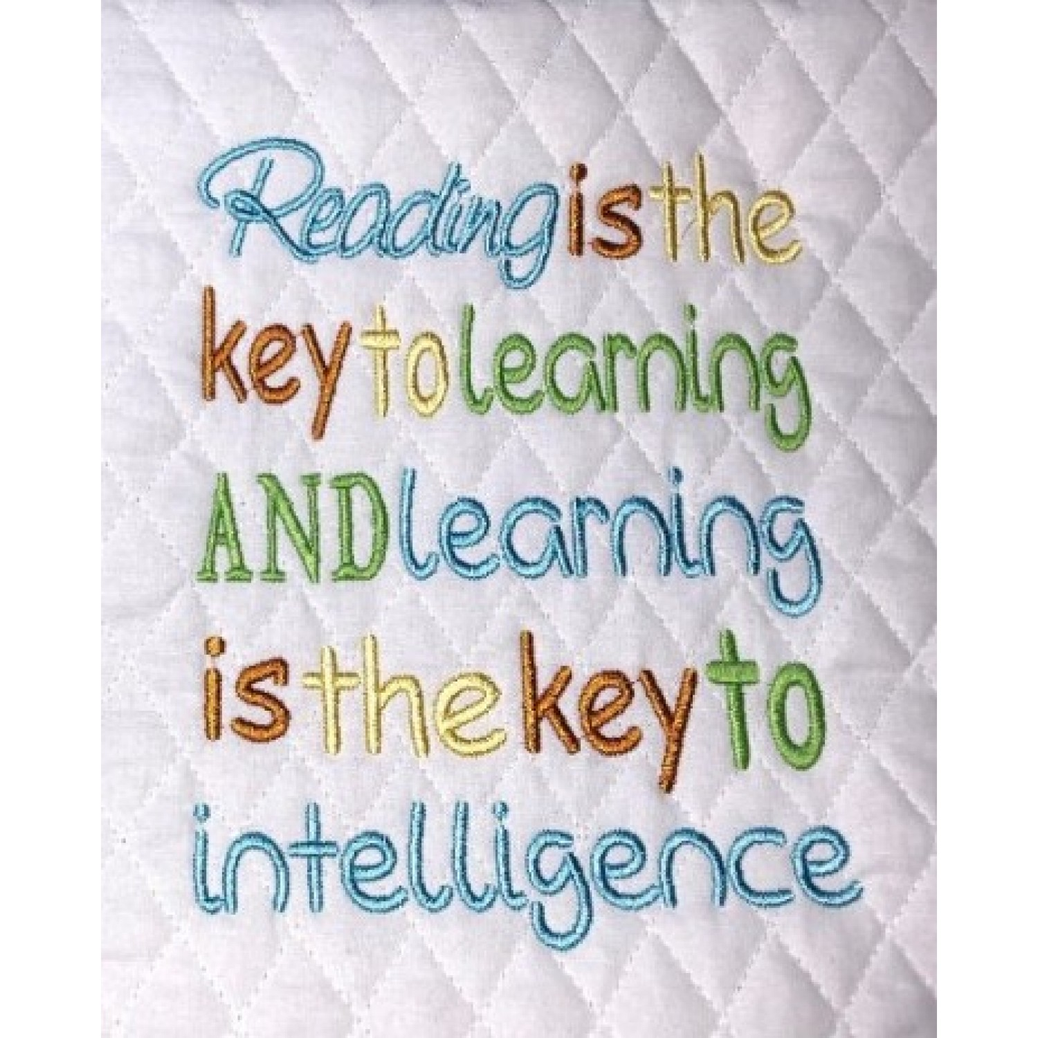 Reading is the key