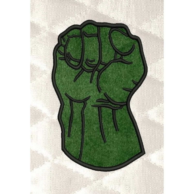 Hulk Fist applique