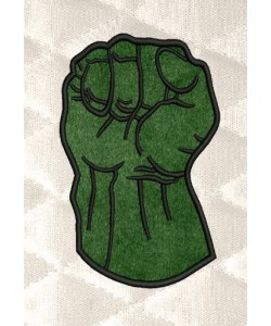 Hulk Fist applique