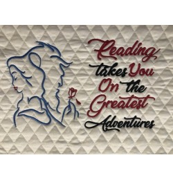 Princess Belle and the Beast with reading takes you