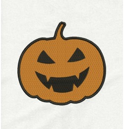 pumpkin embroidery