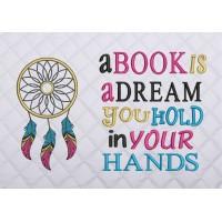 dream catcher color a book is a dream