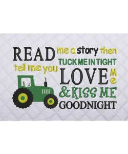 read me a story tractor