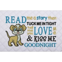 read me a story dog