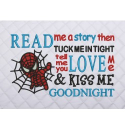 read me a story spiderman