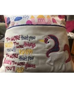 Unicorn Applique the more that you read